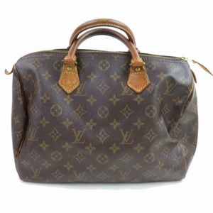 Auth Louis Vuitton Speedy 30 Boston Bag #1814L13